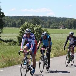 Vätternrundan - Tomas Lundberg (3540), Emil Hägerlund (9495), Fredrik Haga (21017)