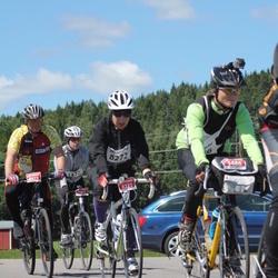 Vätternrundan - Jani Jokinen (4486), Sebastian Stey (7477), Karin Eriksson (8272)