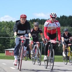 Vätternrundan - Carl-Adam Thelander (6207), Bill Hellström (21024), Daniel Aspelin (22439), Carl Johan Malm (22459)