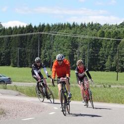 Vätternrundan - Linn Hjertén (20109), Andreas Löfberg (20111), Henrik Andersson (23733)