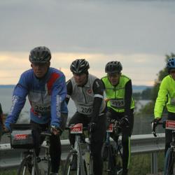 Vätternrundan - Bengt Jonsson (2093), Jan Ekman (2094), Allan Johansson (2096), Jimmy Johansson (2097)