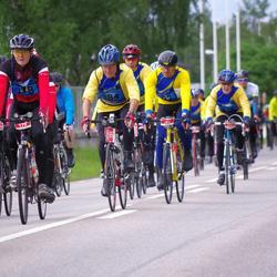 Vätternrundan - William Gren (179), Folke Henriksson (184), Göran Arvidsson (192), Arne Johansson (218), Katarina Eriksson (22207)
