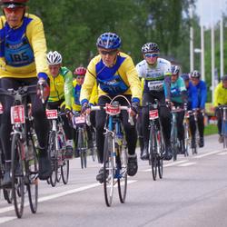 Vätternrundan - William Gren (179), Folke Henriksson (184), Göran Arvidsson (192), Arne Johansson (218), Josef Vogl (1451), Katarina Eriksson (22207)