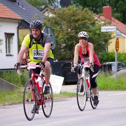 Vätternrundan - Anders Törnblom (20902), Jeanette Grefve Törnblom (20903)