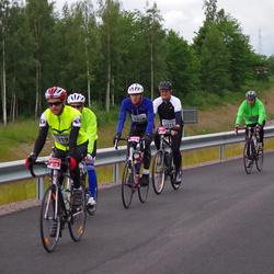 Vätternrundan - Alf Gustafsson (1311), Jan Wallentin Damgaard (1314), Claes Holst (1319), Bengt Erik Hangård (6435)