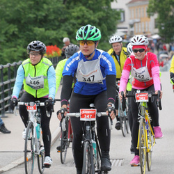 Vätternrundan - Amanda Uvemo (342), Carin Gerok (346), Olivia Lindgren (347)