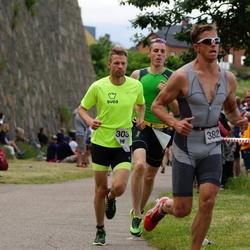 Maleryd Varberg Triathlon - Jonas Olsson (303), Martin Forssell (382)