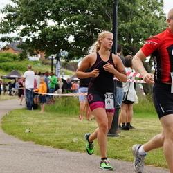 Maleryd Varberg Triathlon - Alexander Warolin (344), Nina Seller (372)