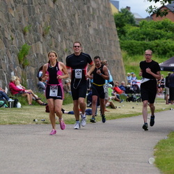Maleryd Varberg Triathlon - Cecilia Hjälmroth (256), Marcus Olsson (304)