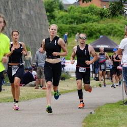 Maleryd Varberg Triathlon - Hanna Jögård (266), Pär Börjesson (354)
