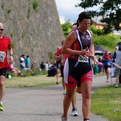 Maleryd Varberg Triathlon - Lars Sandin (318), Anna-Lena Larsson (365)