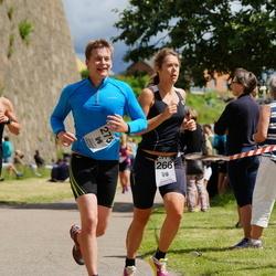 Maleryd Varberg Triathlon - Hanna Jögård (266), Alfred Larsson (275)
