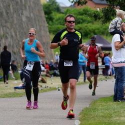Maleryd Varberg Triathlon - Helena Frejd (240), Johan Nilsson (297)