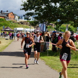 Maleryd Varberg Triathlon - Martin Smedendahl (64), Nina Seller (372), Amanda Persson (393)