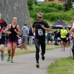 Maleryd Varberg Triathlon - Alexander Warolin (344), Stefan Johansson (378)