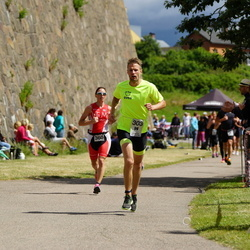 Maleryd Varberg Triathlon - Jonas Olsson (303), Sara Bergström (360)