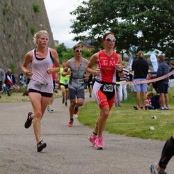 Maleryd Varberg Triathlon - Sara Bergström (360), Martin Forssell (382)