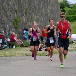 Maleryd Varberg Triathlon - Hanna Jögård (266), Jenny Svensson (325)