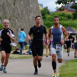 Maleryd Varberg Triathlon - Jeanette Källberg (272), Daniel Brolin (396)