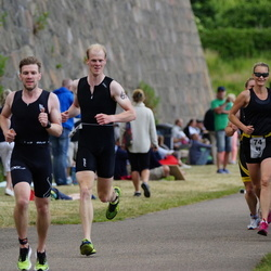 Maleryd Varberg Triathlon - Jacob Toxen-Worm (69), Karin Rolofsson (74)
