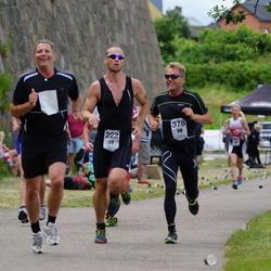 Maleryd Varberg Triathlon - Henning Bergqvist (222), Stefan Johansson (378)