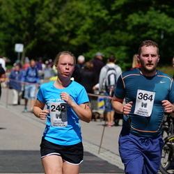 Maleryd Varberg Triathlon - Emelie Klasson (242), Niklas Eriksson (364)