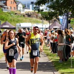 Maleryd Varberg Triathlon - Nina Gradin (28), Per Sund (322)