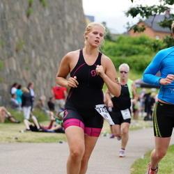 Maleryd Varberg Triathlon - Alfred Larsson (275), Nina Seller (372)