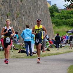 Maleryd Varberg Triathlon - Johanna Rosberg (314), Per Sund (322)
