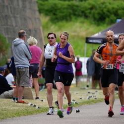 Maleryd Varberg Triathlon - Johan Olsson (301), Linda Ripa (310)