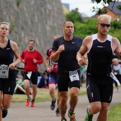 Maleryd Varberg Triathlon - Caroline Ingvar-Nilsson (259), Ola Nilsson (299)