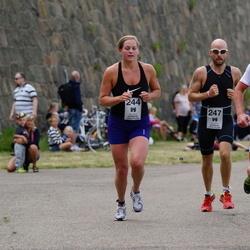 Maleryd Varberg Triathlon - Carolin Grimpe (244), Jonas Gustafsson (247)