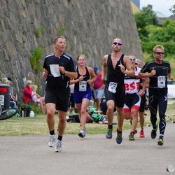 Maleryd Varberg Triathlon - Henning Bergqvist (222), Carolin Grimpe (244), Stefan Johansson (378)