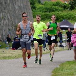 Maleryd Varberg Triathlon - Erik Bergkvist (219), Jonas Olsson (303), Martin Forssell (382)