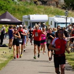 Maleryd Varberg Triathlon - Victor Bergdahl (217), Olle Johnsson (385), Cecilia Larsson (391)
