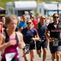 Maleryd Varberg Triathlon - Rikard Karlsson (267), Annika Nilsson (295)