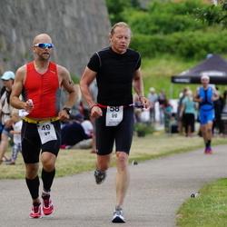 Maleryd Varberg Triathlon - Staffan Niemi (49), Ralph Peeker (58)