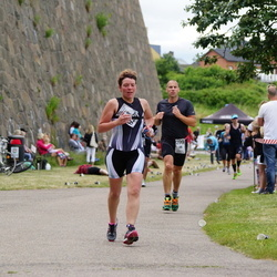 Maleryd Varberg Triathlon - Malin Liljesson (278), Ola Nilsson (299)
