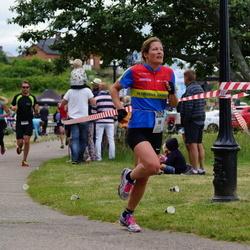 Maleryd Varberg Triathlon - Fredrik Andersson (204), Emma Lindén (282)