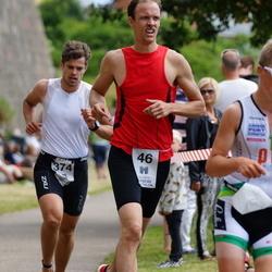 Maleryd Varberg Triathlon - Tomas Mikaelsson (46), Erik Stakäng (374)