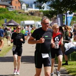 Maleryd Varberg Triathlon - Elin Töllborg (337), Alexander Warolin (344)