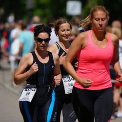 Maleryd Varberg Triathlon - Sofia Ekerlund (234), Anita Lindfors (283)