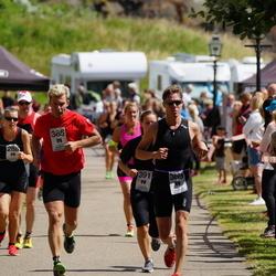 Maleryd Varberg Triathlon - Olle Johnsson (385), Patrik Nordbrant (389)