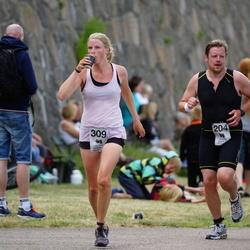 Maleryd Varberg Triathlon - Fredrik Andersson (204), Beke Regelin (309)