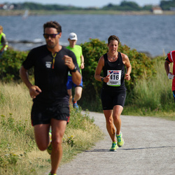 Varbergsloppet - Anneli Janson (416), Cliff Höök (662)