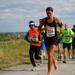 Varbergsloppet - Pia Ekelund (736), David Hansson (1346)