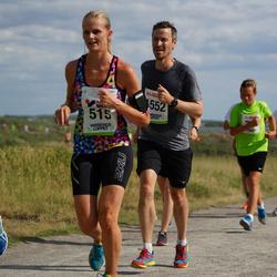 Varbergsloppet - Nina Andersson (515), Jon Levin (1552)