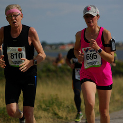 Varbergsloppet - Michaela Mänd (695), Göte Berglund (810)
