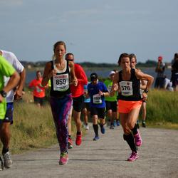 Varbergsloppet - Camilla Sandell (576), Frida Jonesig (859)
