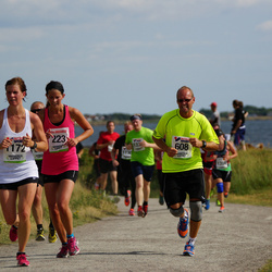 Varbergsloppet - Charlotta Eriksson (223), Peter Claesson (608), Li Larsson (1172)